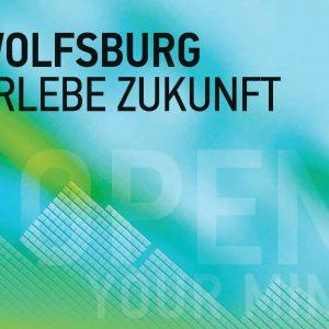 Das Bild zeigt das Cover der atuellen Imagebroschüre von Wolfsburg