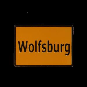 Magnet Ortsschild Wolfsburg