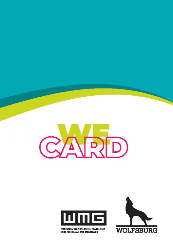 """Das Bild zeigt eine Kartenhülle für die WECARD mit dem Motiv """"Klassik""""."""