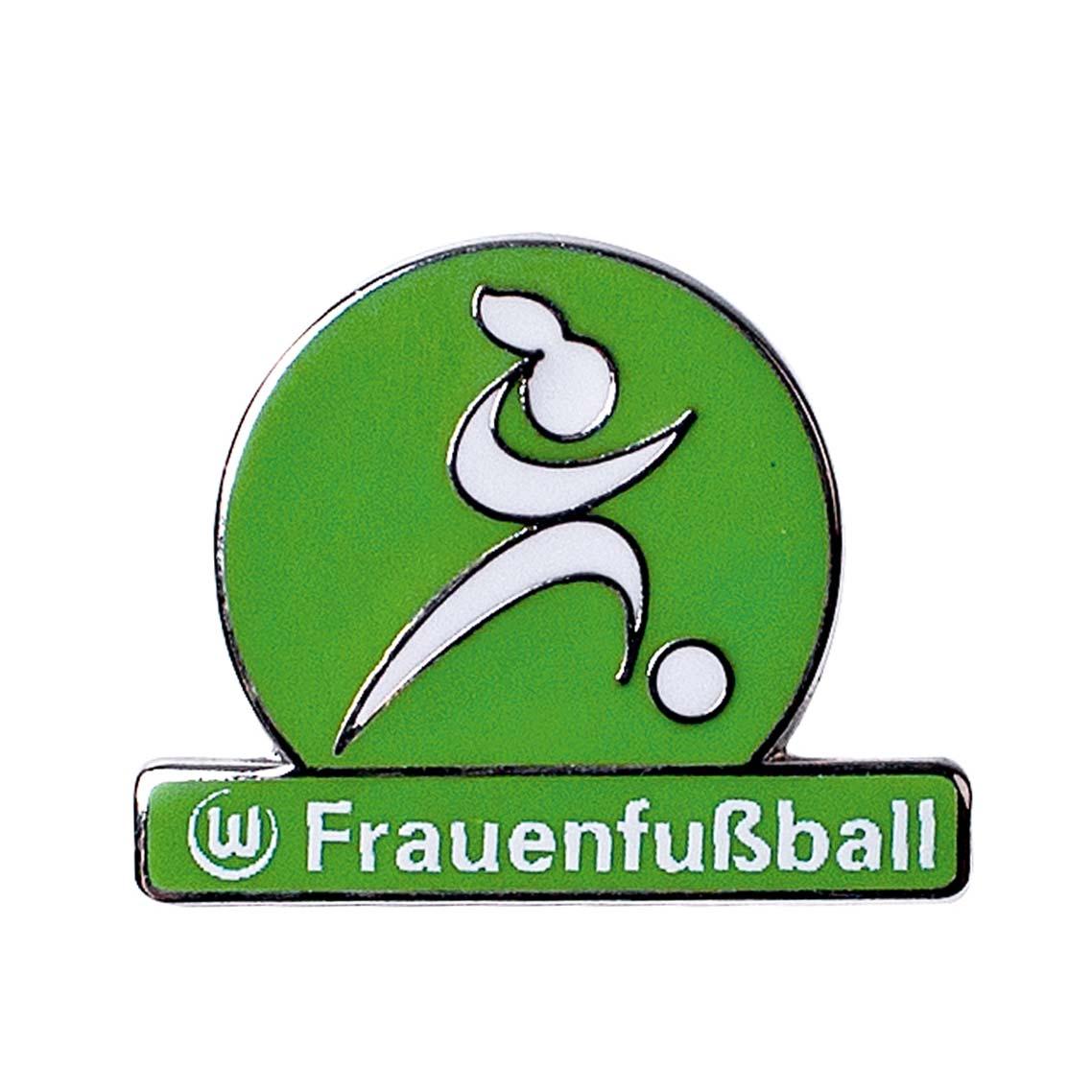 Das Bild zeigt den VfL Wolfsburg Pin Frauenfußball.